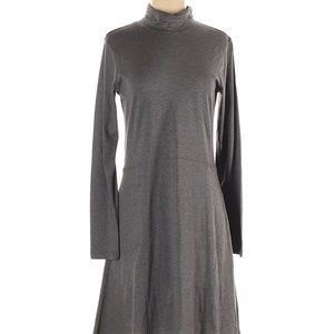 Toad & Co Turtleneck Gray Fit and Flare dress S